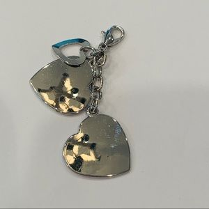FREE w/any purchase triple heart silver charm